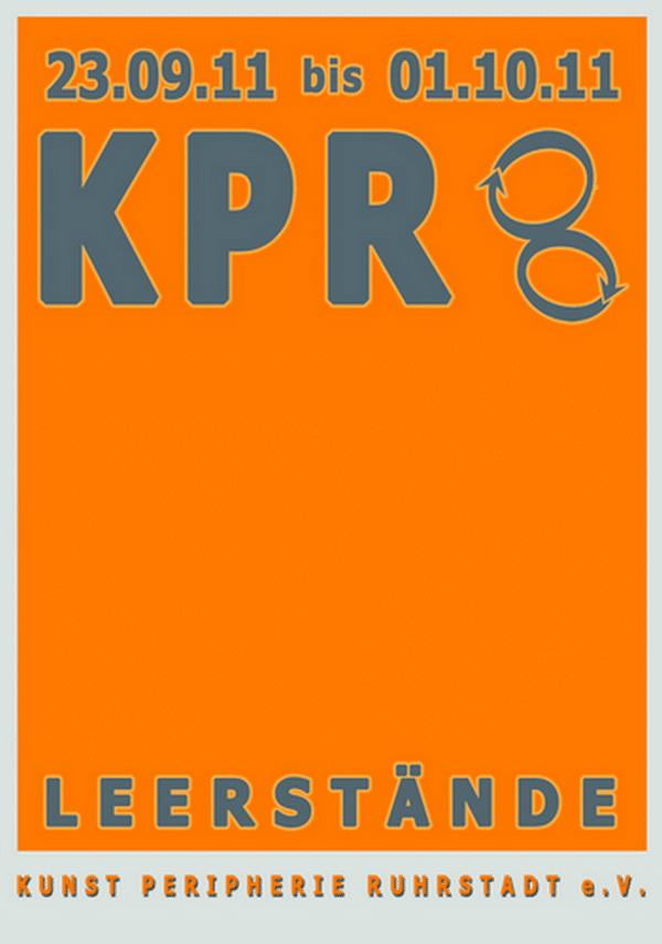 Kunst Peripherie Ruhrstadt KPR 8 Thema:  Leerstände