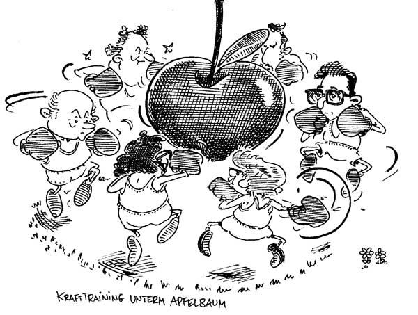 Kapitel 19: Konspiration unter dem Apfelbaum