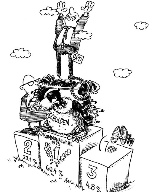 Kapitel 25: Die Kommunalwahl 1975: Es geht um alles!
