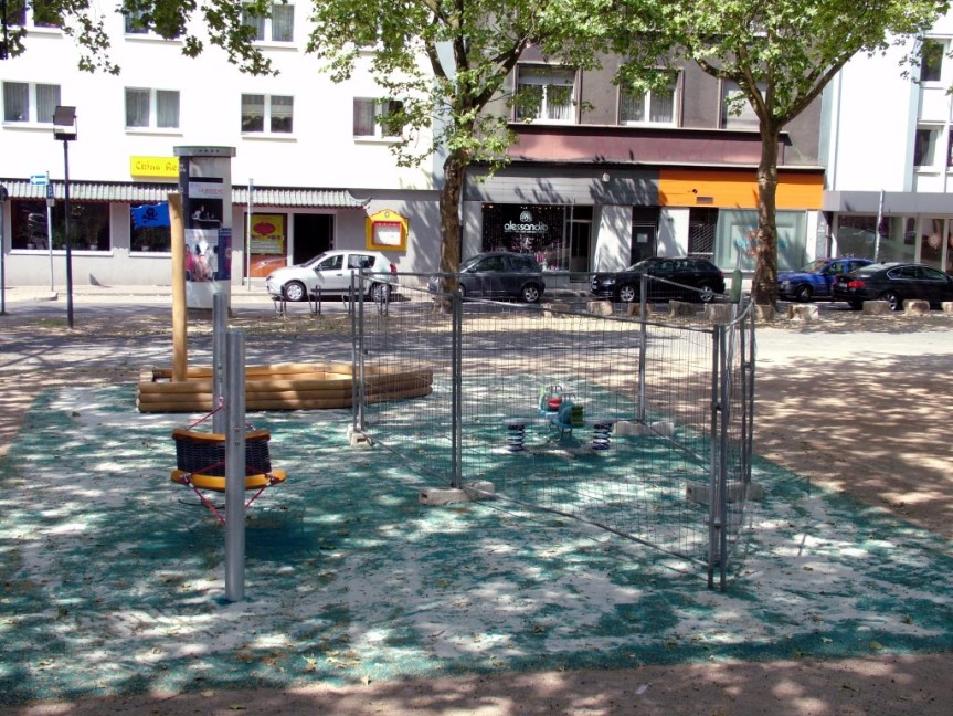 Elisabethplatz Hängematte - Foto: Günter Kania