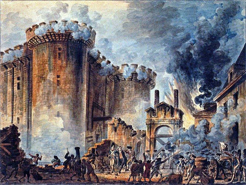 Jean-Pierre Houël (1735-1813) Sturm auf die Bastille
