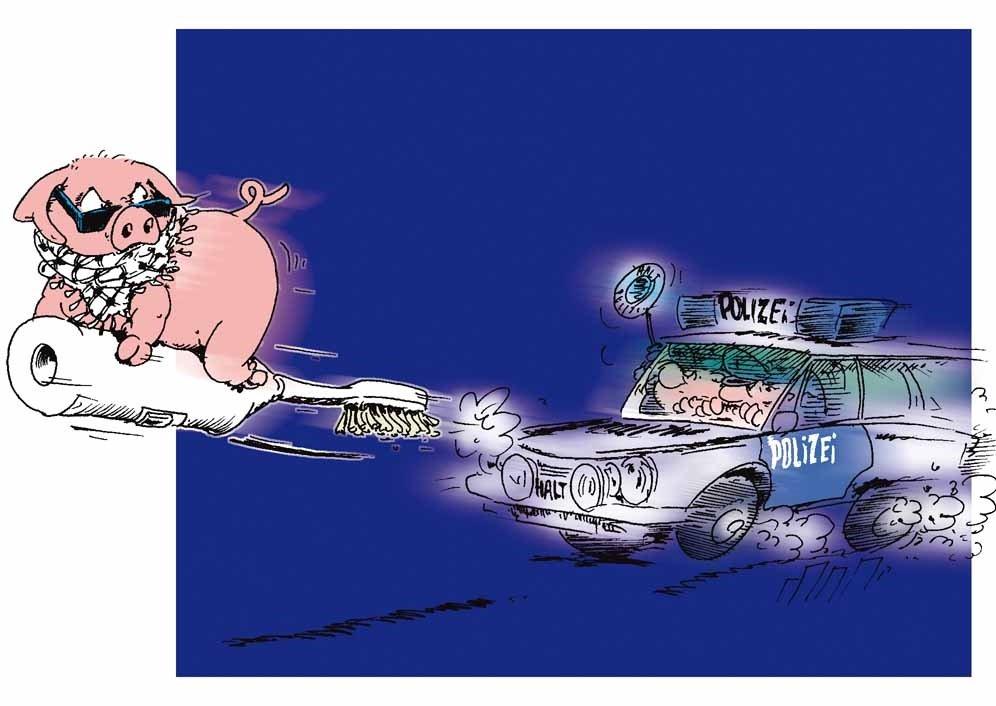 Karikatur: Uli Queste