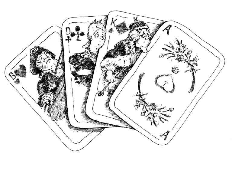 König, Dame, Bube – Arschloch – sechzehntes Kapitel