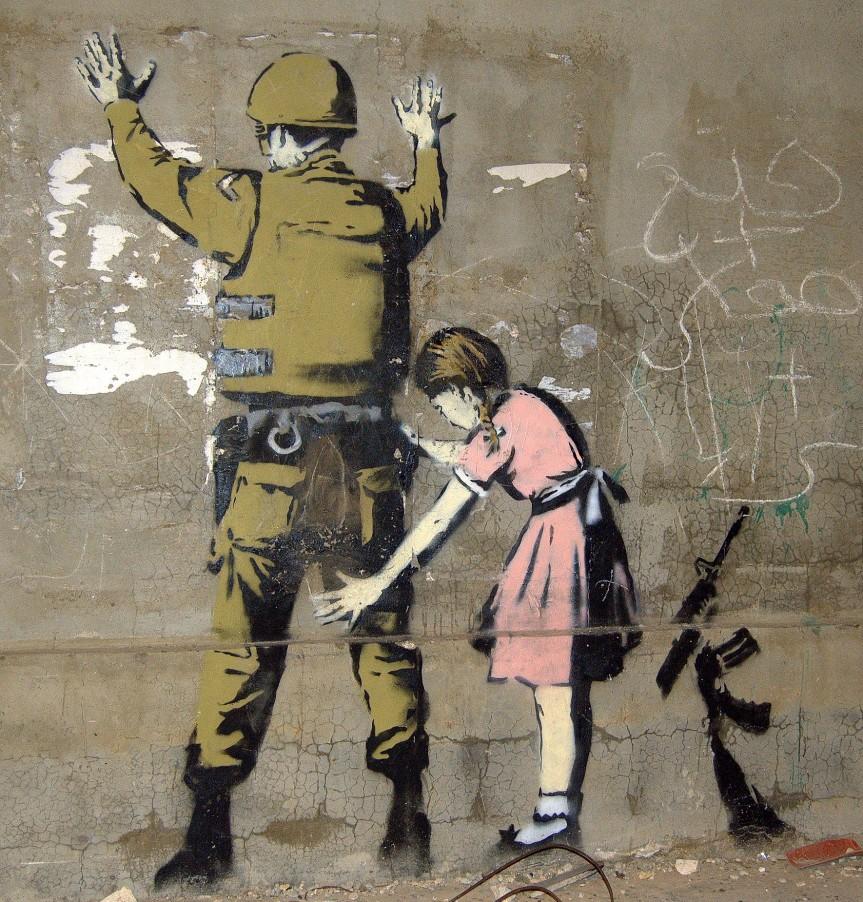 Banksy Foto: Pawel Ryszawa (CC BY-SA 4.0)